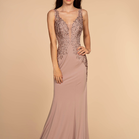 a9bee78e58f Sheath Shape Long Evening Dress GL2614 Boutique